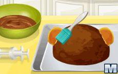 Cucina con sara torta con forma di scimmia - Giochi di cucina sara ...